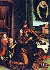 Obraz wotywny Władysława II Jagiellończyka i jego dzieci Anny i Ludwika