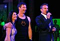 Bernie Rieder, Lisa Haber, Alfons Haider, dancer against cancer 2010.jpg