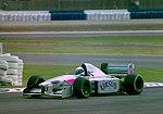 Bertrand Gachot - Pacific PR01 at the 1994 British Grand Prix (32418697731).jpg