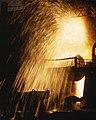 Bessemer converter (iron into steel), Allegheny Ludlum Steee Corp., Brackenridge, Pa (cropped).jpg