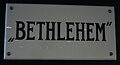 Bethlehem naambord.JPG