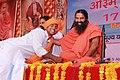 Bhai Sunder Panchal with Baba Ramdev.jpg