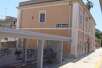 Comiso - Comiso station building