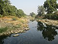 Bhuri river, a tributary of Wakal River in Kotra tehsil, Udaipur district, Rajasthan.jpg