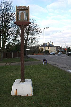 Bicknacre - Image: Bicknacre village sign 1