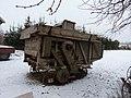 Biechowo - stara maszyna do omłotów czeka na swój koniec , spalą i przetopią. - panoramio.jpg