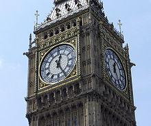 Le célèbre Big Ben