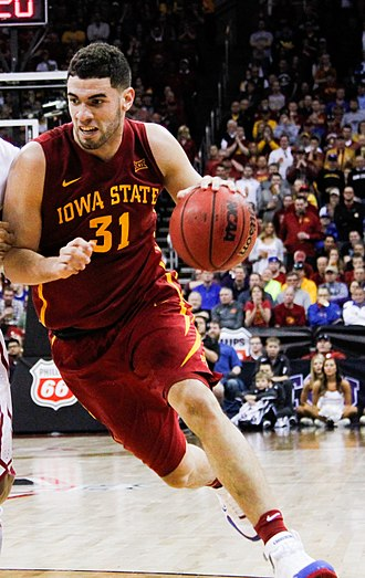 Georges Niang - Niang playing for Iowa State