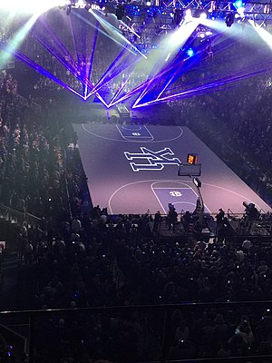 Midnight Madness (basketball) - Big Blue Madness in 2015, at Rupp Arena in Lexington, Kentucky.