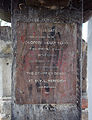 Birchington All Saints Church 15 - Lychgate plaque.jpg