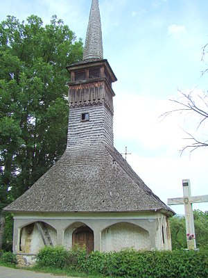 Șomcuta Mare - Wooden church in Buteasa village