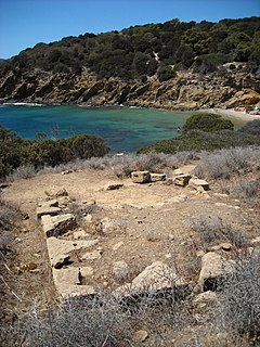 archaeological site in Sardinia