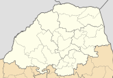 Blank map of Limpopo (2011).svg
