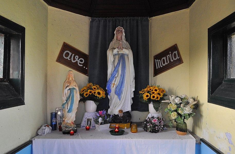 Blankenberge (Belgium): Maantje's chapel - interior