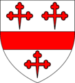 Blazon of William Crane of Stonham.png