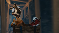 Blender Foundation - Caminandes - Episode 3 - Llamigos - Riding mine cart with Koro and Oti while carrying a red grape.png