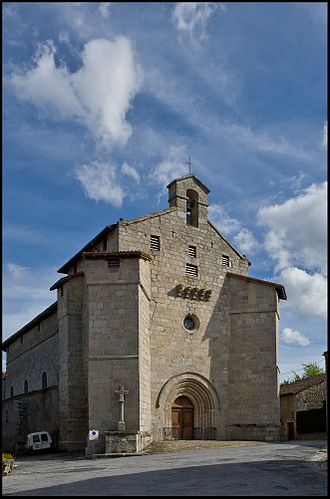 Blond, Haute-Vienne - Fortified Church in Blond, Haute-Vienne