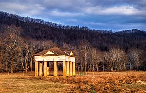 National Register of Historic Places listings in Greenbrier County, West Virginia - Image: Blue Sulphur Springs Pavilion, West Virginia