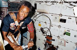 Guion Bluford - Bluford on STS-8 in 1983