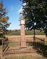 Boží muka (Brno), Žebětín, na SV okraji obce, u sil. směrem do Bystrc, Brno.JPG