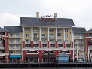 Epcot Resort Area - Disney's Boardwalk Inn