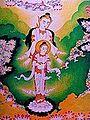 Bodh Gaya - Wat Thai - Mayadevi and the Bodhisatta (9225599941).jpg