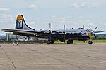 Boeing B-29A Superfortress '461748 - Y' 'It's Hawg Wild' (G-BHDK) (25153110676).jpg