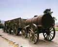 Borax wagons, Death Valley, California LCCN2011630832.tif