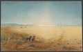 Border of the Mud-Desert near Desolation Camp by Ludwig Becker, 1861.tif