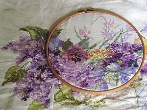 Needlepoint - Image: Borduurring