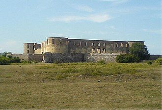 Borgholm - Borgholm Castle in August 2006