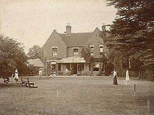 Reportedly haunted locations in the United Kingdom - Borley Rectory in 1892