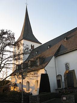 Bornich, Protestant Church, Rhine Valley/Germany