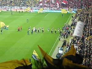 SC Freiburg - SC Freiburg against Borussia Dortmund in 2012