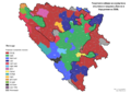 Bosnia and Herzegovina, municipal elections, 2008-sr.png