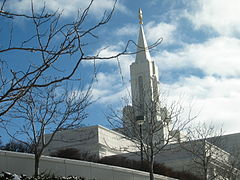Bountiful Utah temple steeple detail.JPG