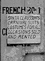 Bourbon Street at Bienville 1941- Detail, Sign.jpg