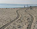 Bournemouth, tractor tracks in the sand - geograph.org.uk - 602450.jpg