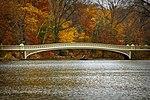 Bow Bridge in Central Park on Thanksgiving 2010.jpg
