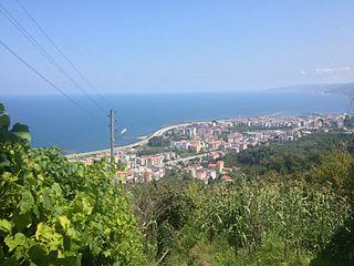 Görele Town in Black Sea, Turkey