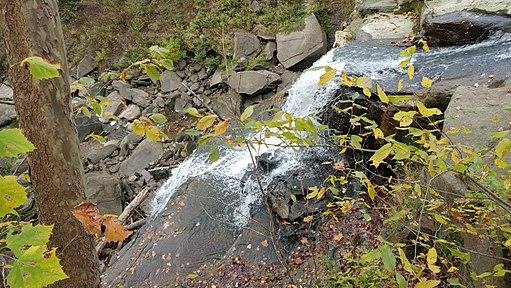 Brandywine Falls closeup