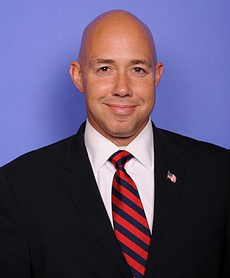 Florida's 18th congressional district - Image: Brian Mast official congressional photo (cropped)