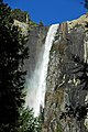 Bridalveil Falls (Yosemite Valley, Sierra Nevada Mountains, California, USA) 5 (20041918771).jpg