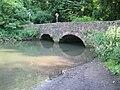 Bridge over Mells River, Great Elm - geograph.org.uk - 836663.jpg