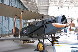 Bristol F.2 Fighter - A Bristol F.2 Fighter preserved at the Imperial War Museum Duxford