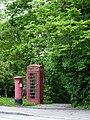 Britische Telefonzelle mit Briefkasten in Sindelfingen - geo-en.hlipp.de - 12669.jpg