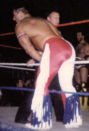 """British Bulldog"" Davey Boy Smith at..."