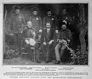 British Officers in the Ottoman Gendarmerie Graphic June 25 1904