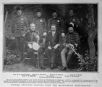 Gendarmerie General Command - British Officers in the Ottoman Gendarmerie, 1904