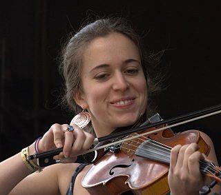 Brittany Haas American bluegrass fiddler